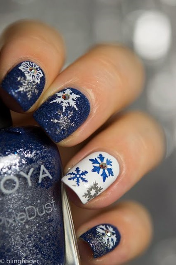 Christmas Nail art Designs and Ideas16