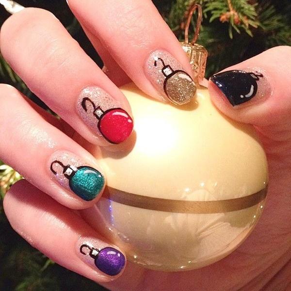 Christmas Nail art Designs and Ideas22