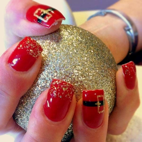 Christmas Nail art Designs and Ideas25