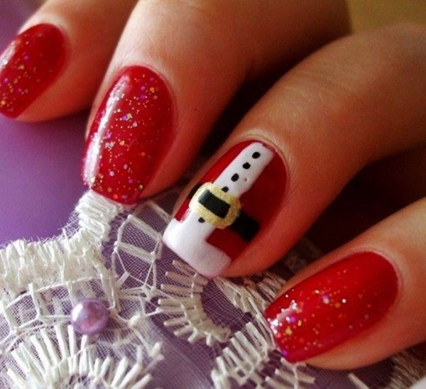 Christmas Nail art Designs and Ideas3
