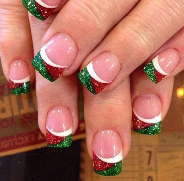 Christmas Nail art Designs and Ideas31