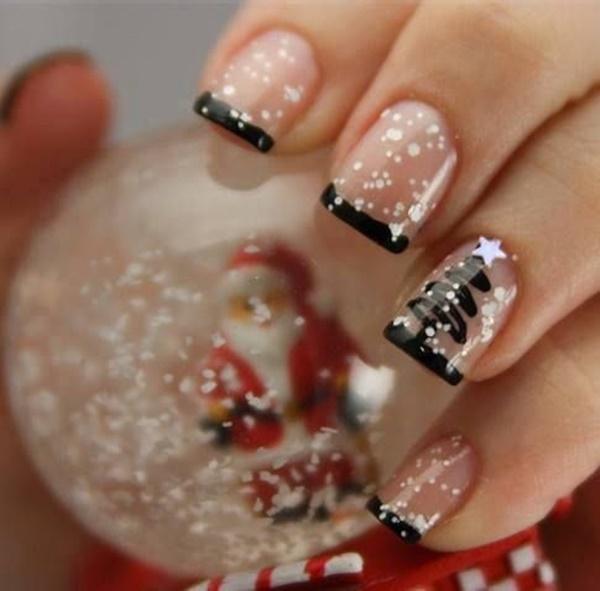 Christmas Nail art Designs and Ideas32