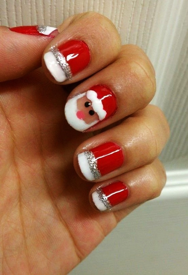 Christmas Nail art Designs and Ideas39