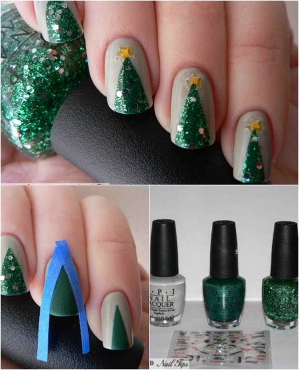 Christmas Nail art Designs and Ideas4