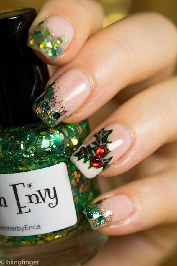 Christmas Nail art Designs and Ideas41