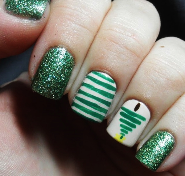 Christmas Nail art Designs and Ideas5