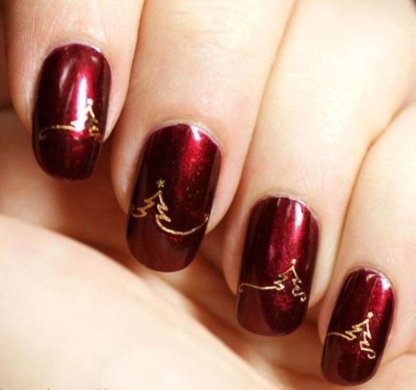 Christmas Nail art Designs and Ideas6
