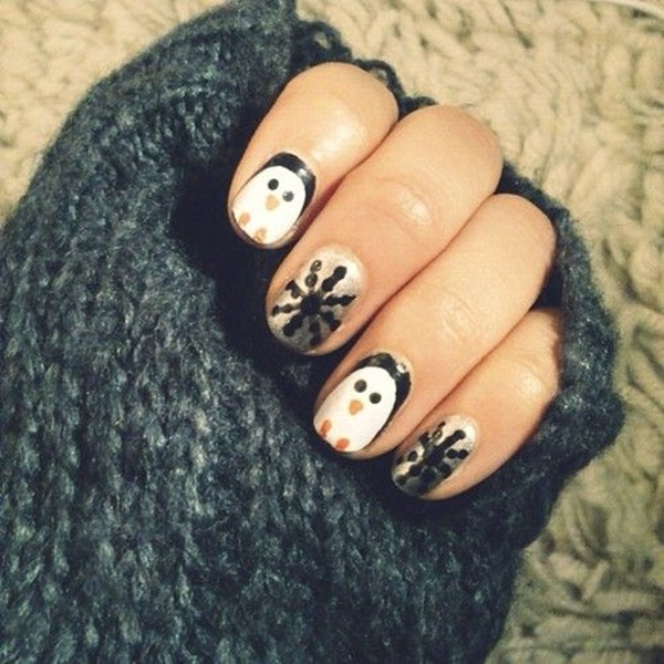 Christmas Nail art Designs and Ideas8