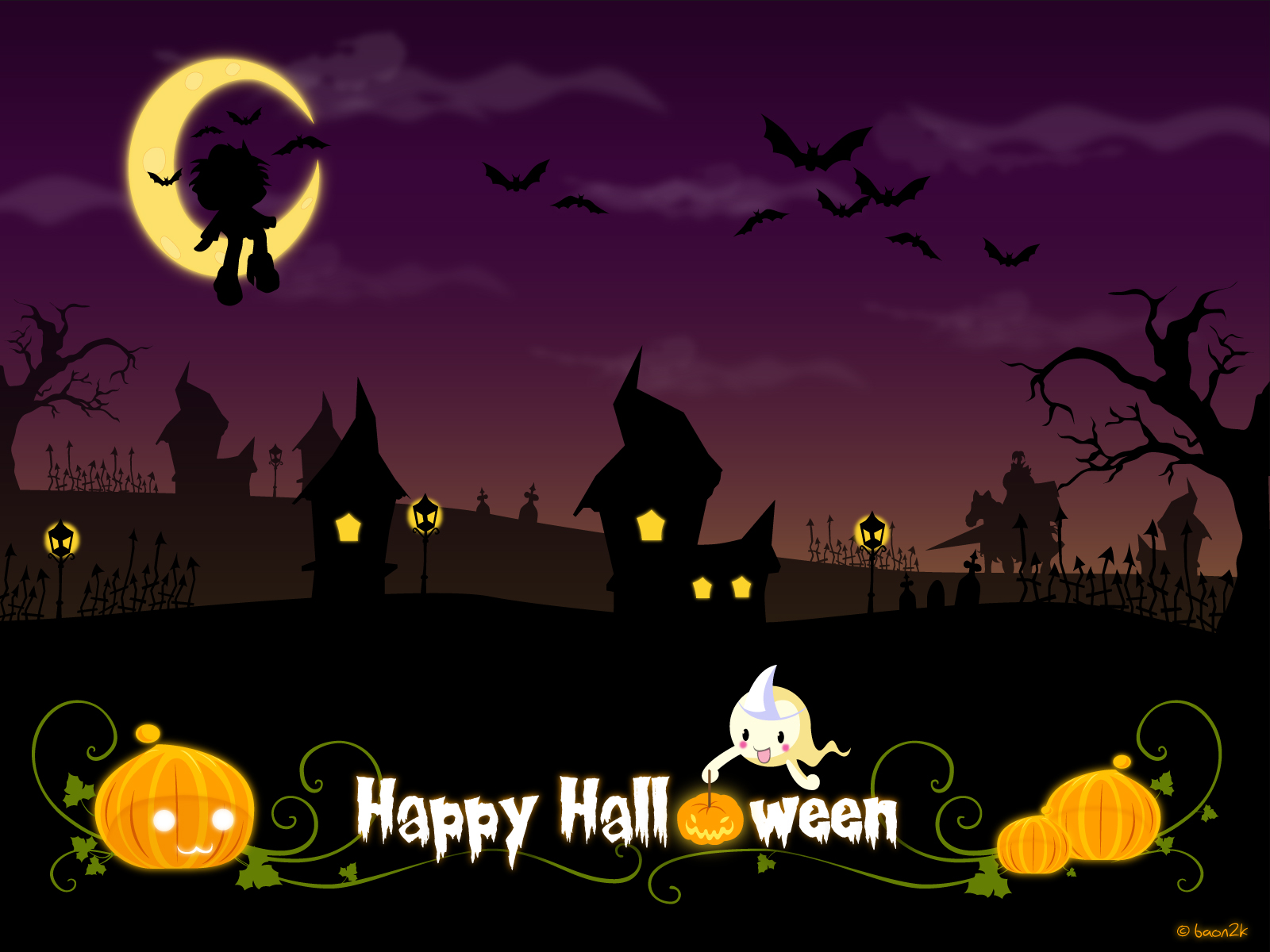 Girly Cute Halloween Wallpaper.Download 50 Cute And Happy Halloween Wallpapers Hd For Free
