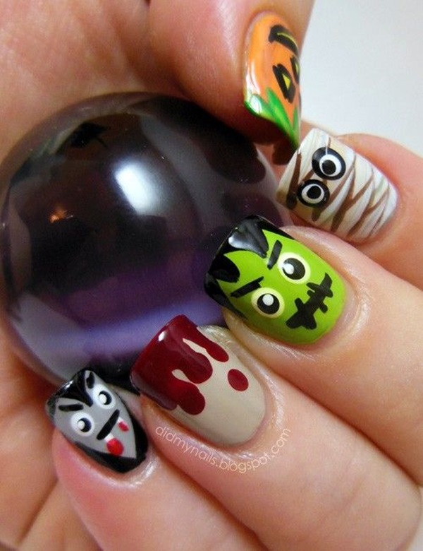 Fall Nails Art Designs and Ideas (10)