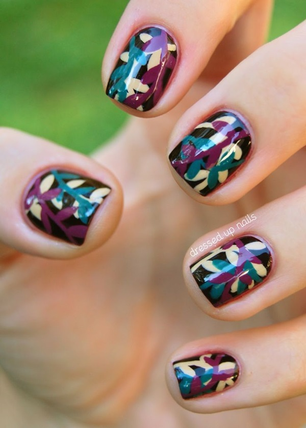 Fall Nails Art Designs and Ideas (11)