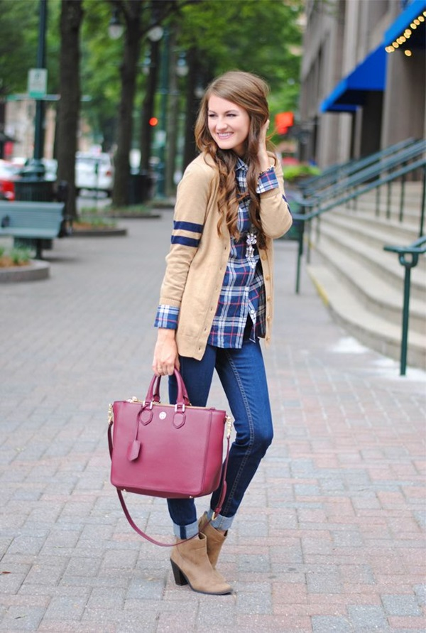 Latest Fall Fashion Outfits with Boots for Teen (1)