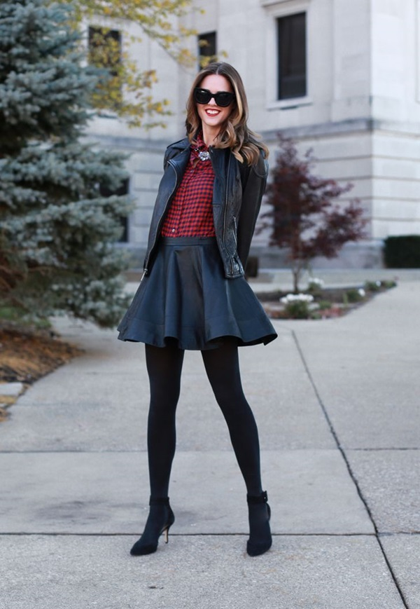 Latest Fall Fashion Outfits with Boots for Teens (2)