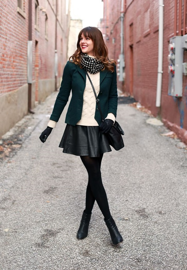 Latest Fall Fashion Outfits with Boots for Teens (6)