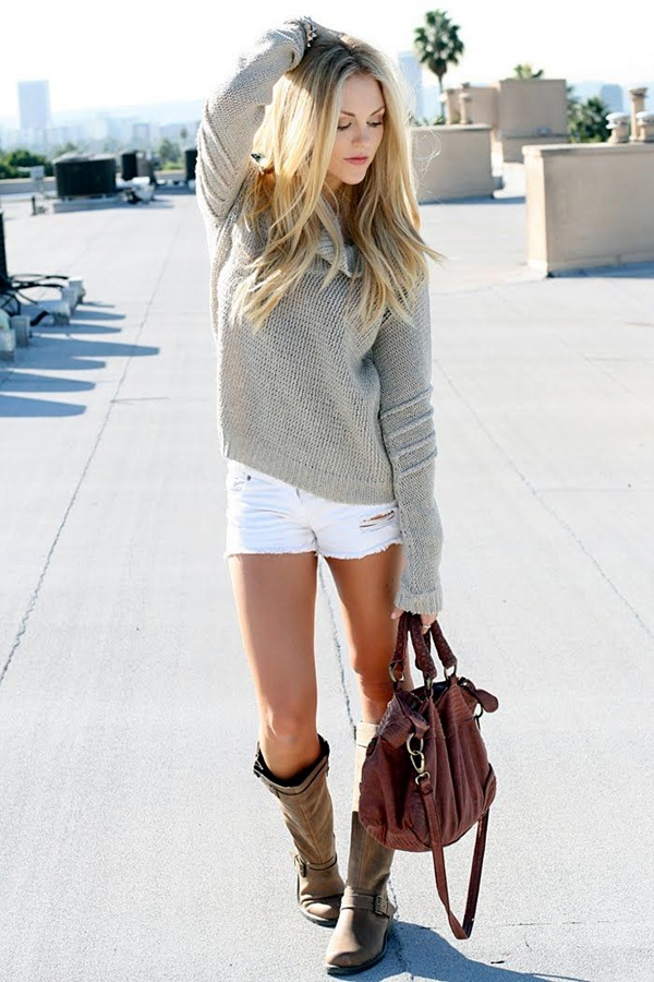 Chic Sweater Outfits for Teens (14)