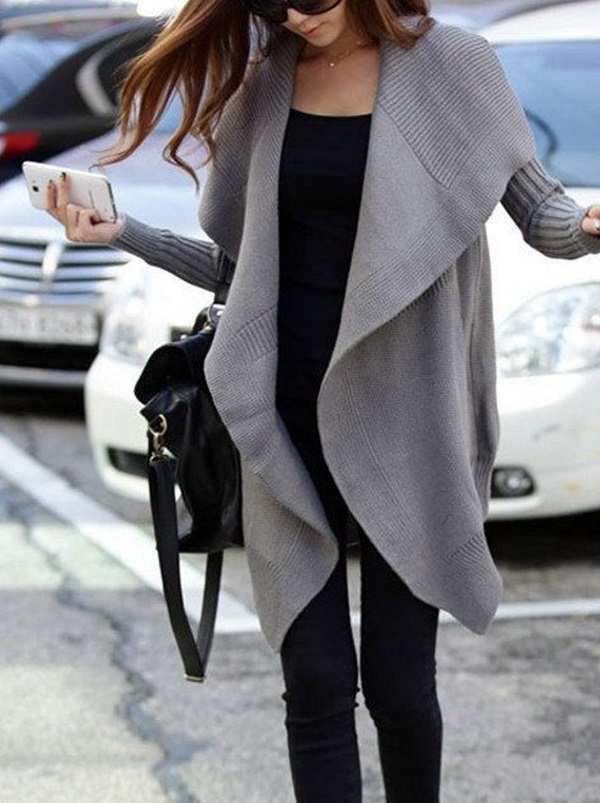 Chic Sweater Outfits for Teens (2)