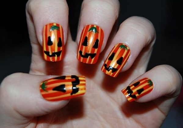 Halloween Nail Art Designs and Ideas (1)