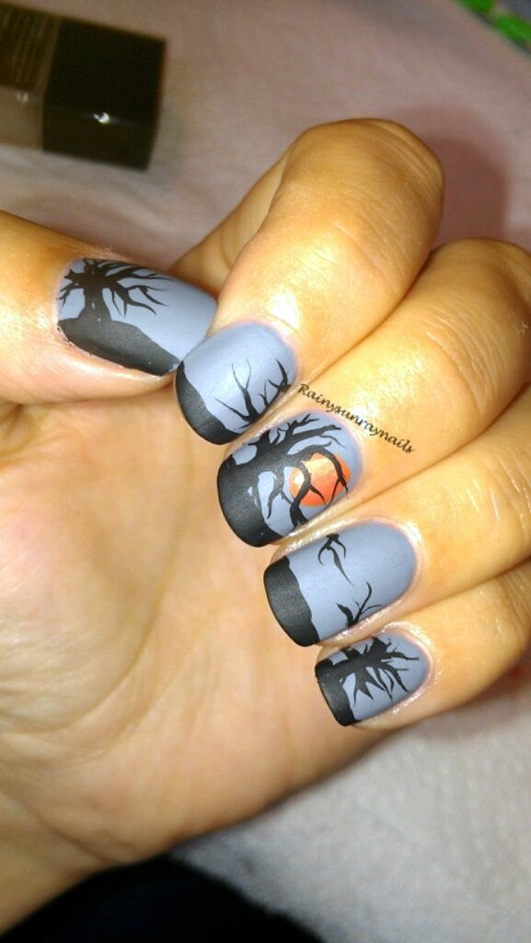 Halloween Nail Art Designs and Ideas (15)