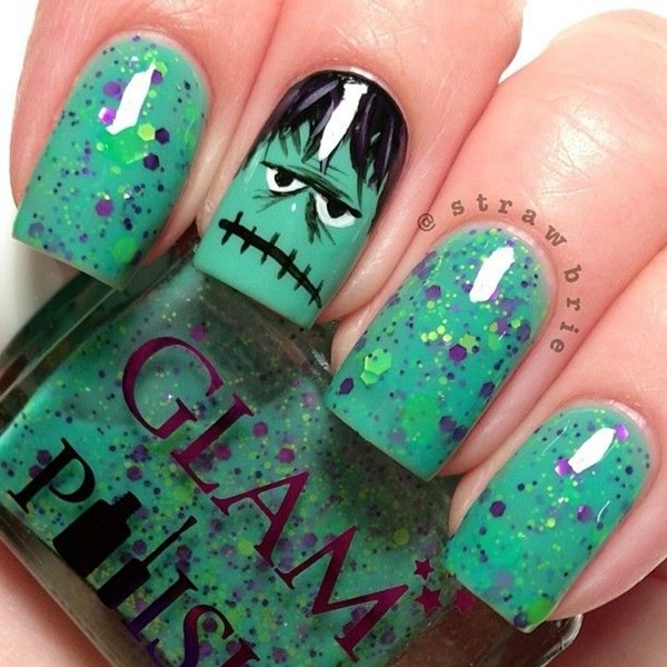 Halloween Nail Art Designs and Ideas (17)