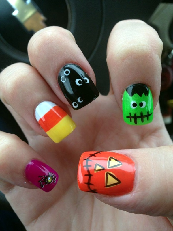 Halloween Nail Art Designs and Ideas (19)