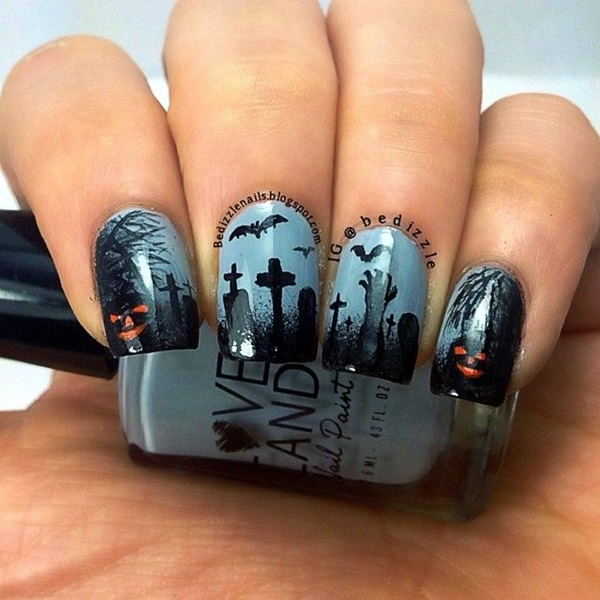 Halloween Nail Art Designs and Ideas (20)
