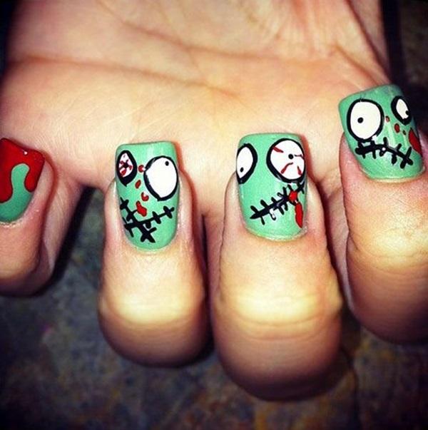 Halloween Nail Art Designs and Ideas (22)