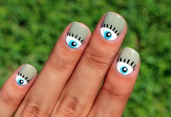 Halloween Nail Art Designs and Ideas (2)