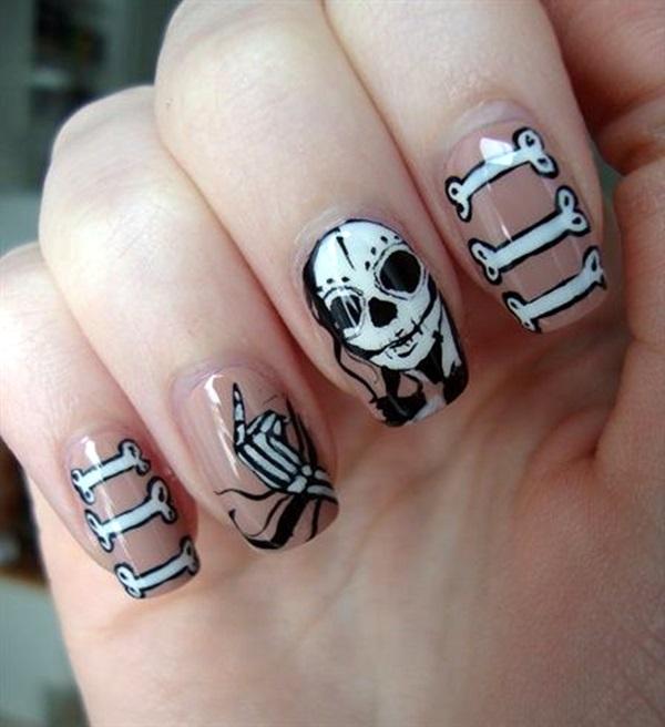Halloween Nail Art Designs and Ideas (2)