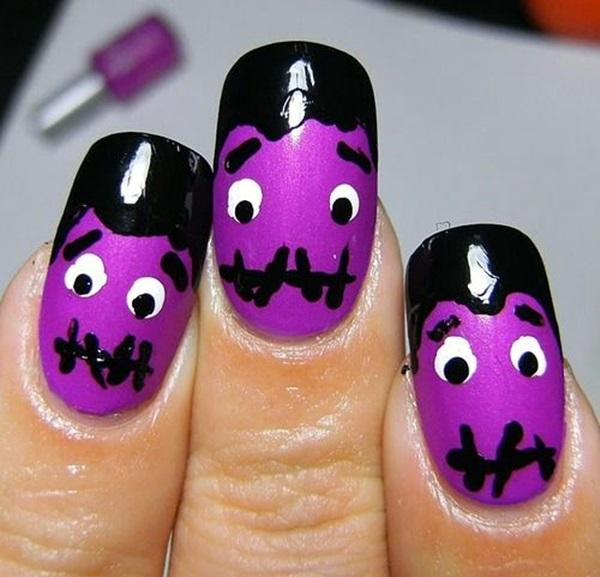 Halloween Nail Art Designs and Ideas (3)