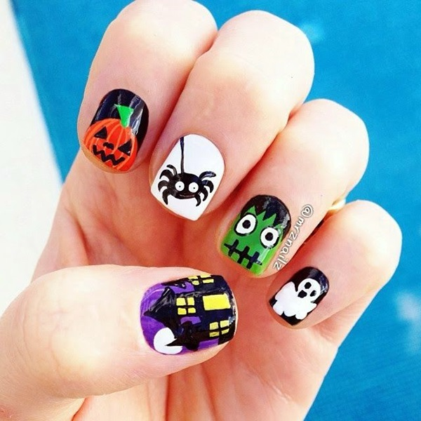 Halloween Nail Art Designs and Ideas (5)