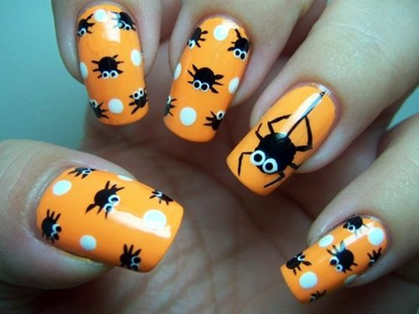 Halloween Nail Art Designs and Ideas (8)