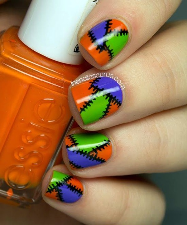 Halloween Nail Art Designs and Ideas (9)