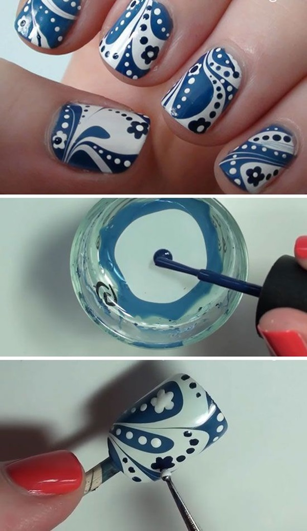 Quick Nail Art Ideas for Office Women (19)