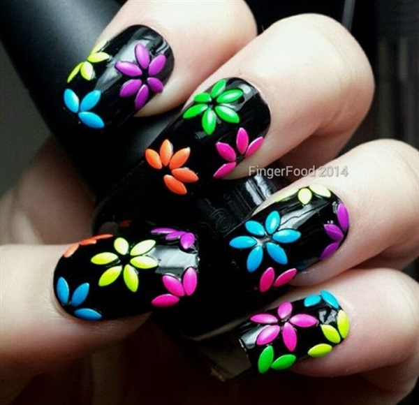 Quick Nail Art Ideas for Office Women (2)