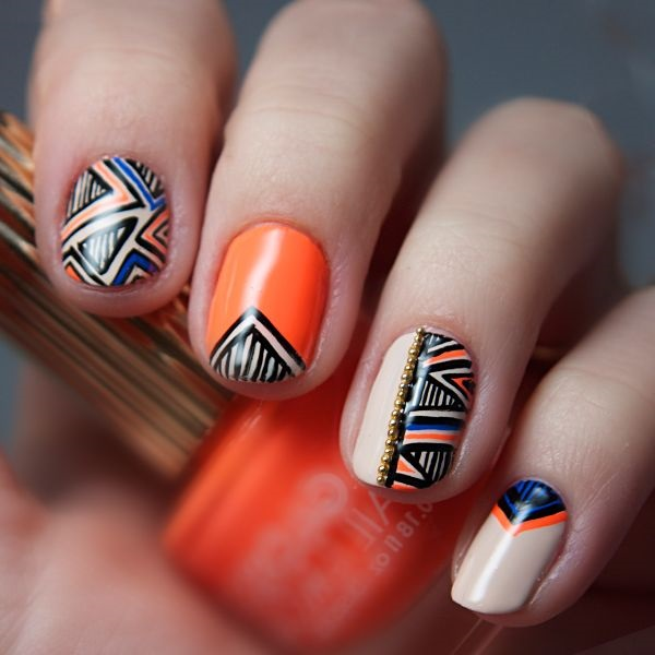 Quick Nail Art Ideas for Office Women (6)