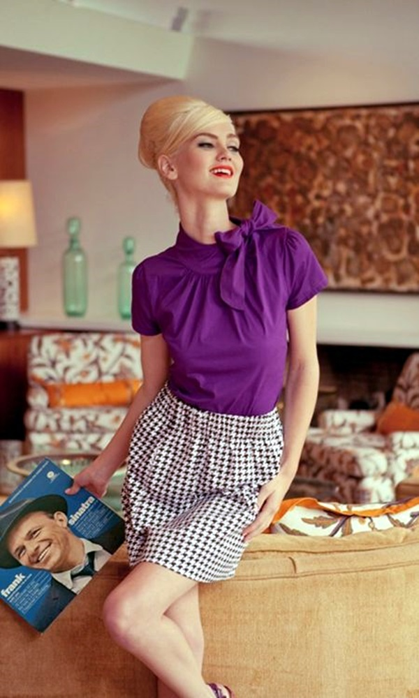 Retro Fashion Style Outfits (2)