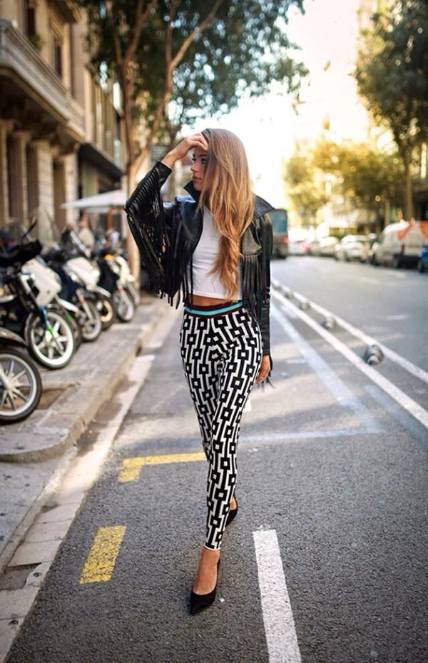 Stylish Ways to Wear Leggings in winter14