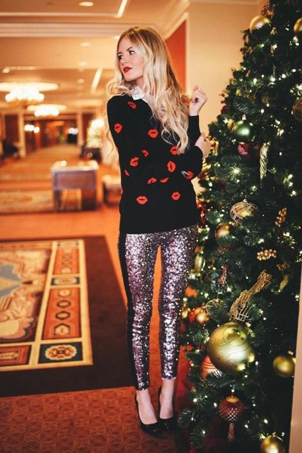 Stylish Ways to Wear Leggings in winter20