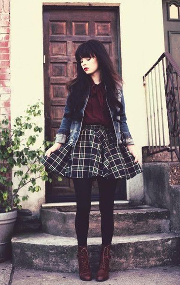 Stylish Ways to Wear Leggings in winter28