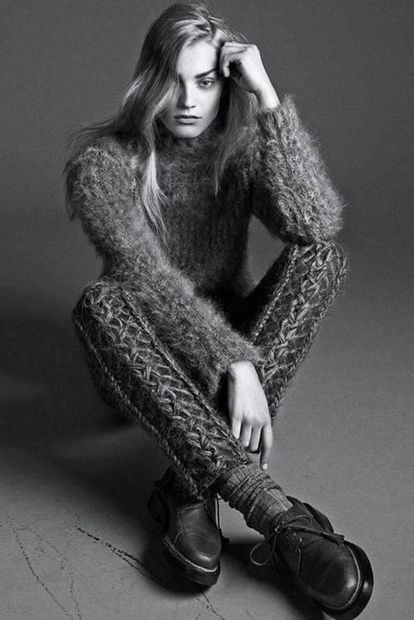 Stylish Ways to Wear Leggings in winter31