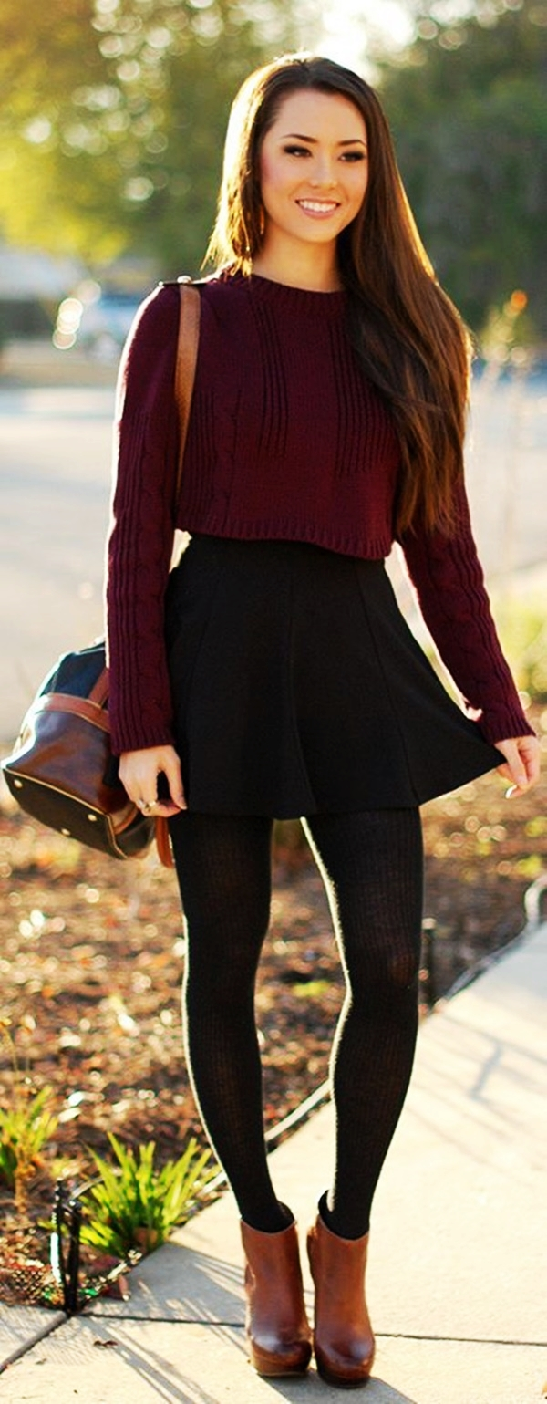 40 Insanely Stylish Ways to Wear Leggings in winter