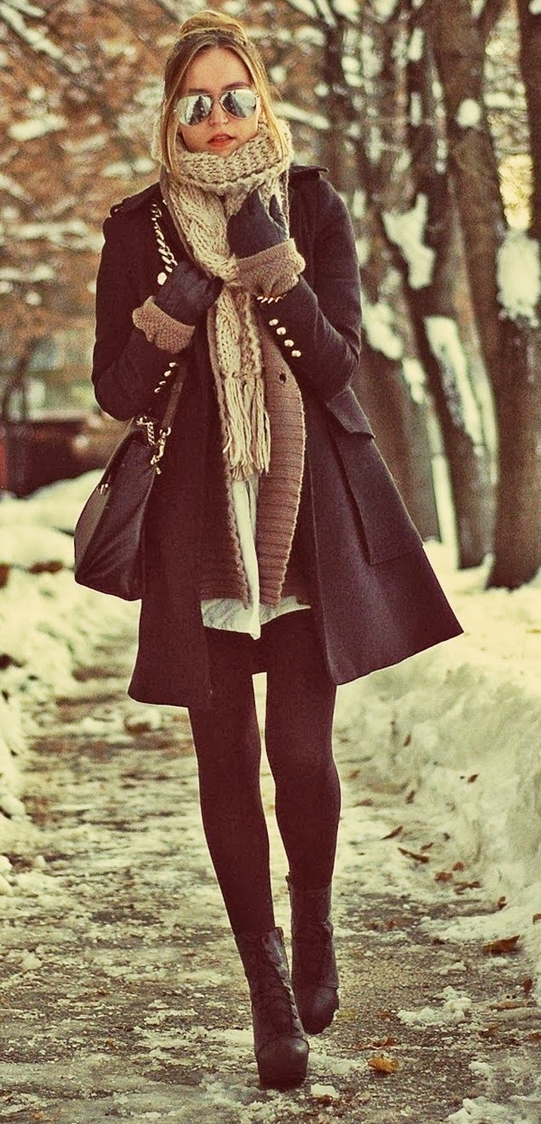 Modern Country Fashion for Winter: Leggings