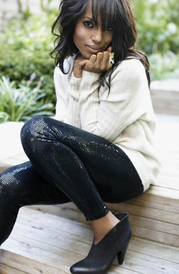 Stylish Ways to Wear Leggings in winter7