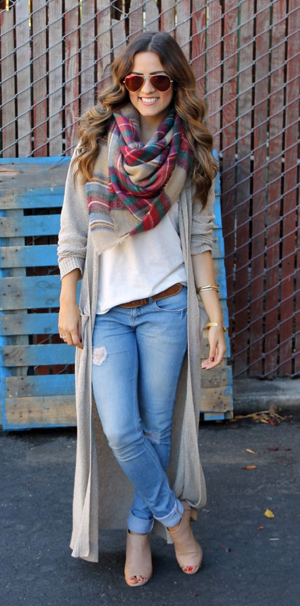 Unique Ideas to wear Summer Outfits in Winter14