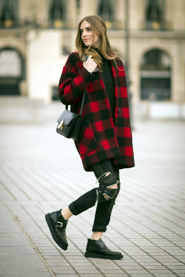 Winter Street Style Fashion 2015 (1)