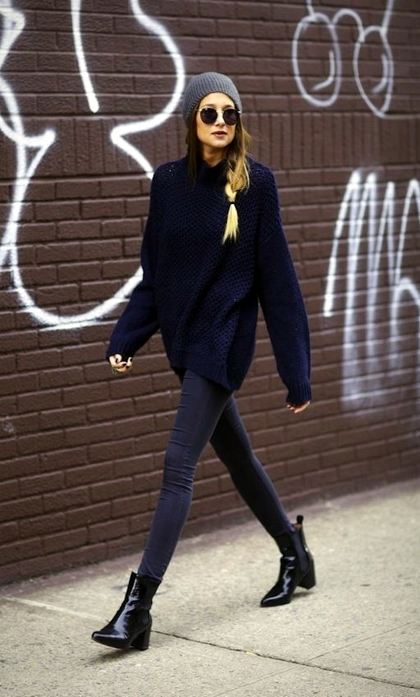 Winter Street Style Fashion 2015 (1)