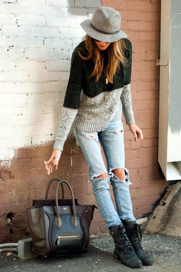 Winter Street Style Fashion 2015 (17)