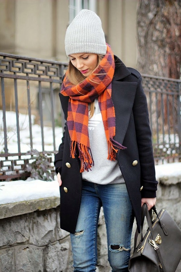 Winter Street Style Fashion 2015 (20)
