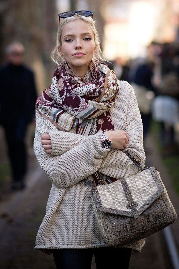Winter Street Style Fashion 2015 (21)