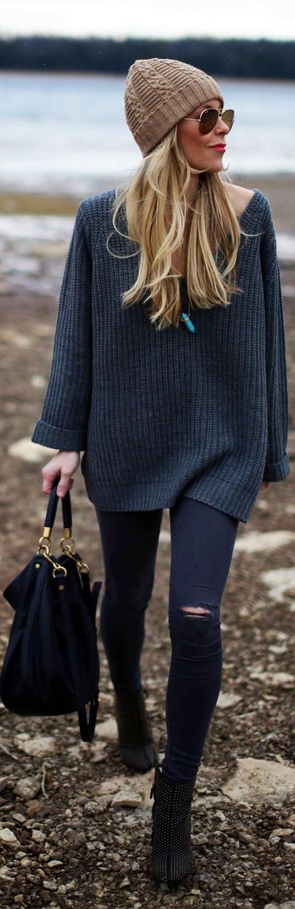 Winter Street Style Fashion 2015 (4)